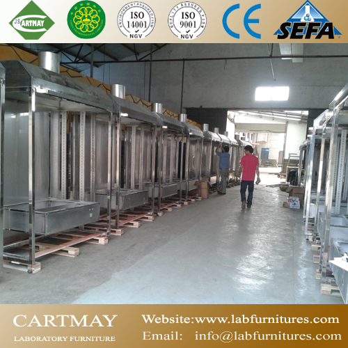 Stainless steel laboratory furniture
