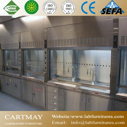 Stainless steel laboratory benches