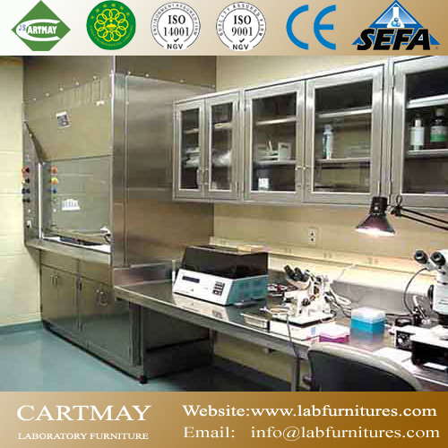 Stainless steel laboratory casework
