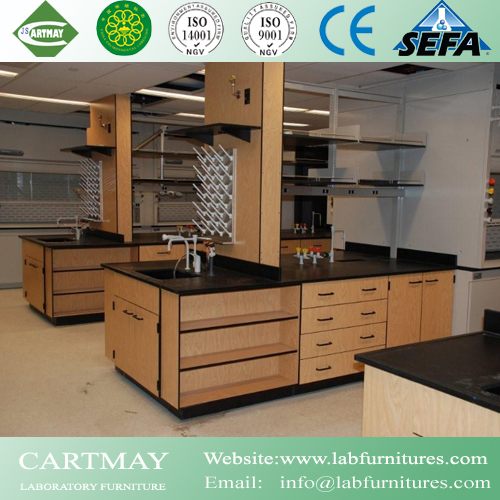 Solid Phenolic Resin Lab Casework