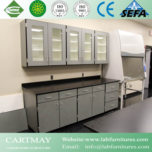 Phenolic resin laboratory casework