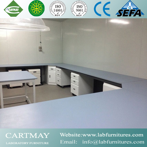 lab countertop surface