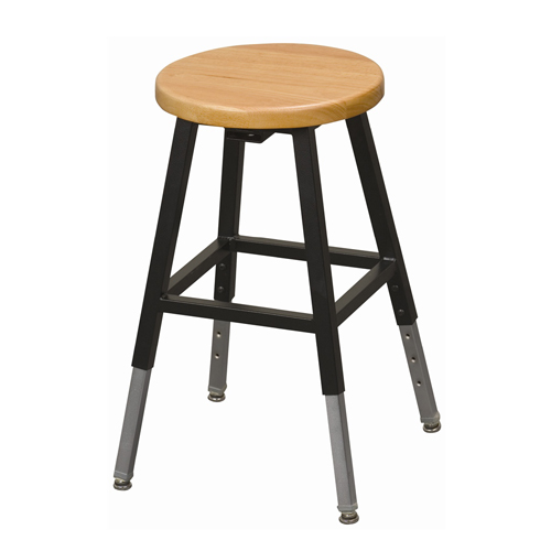 Height Adjustable Lab Stool used in school college and university