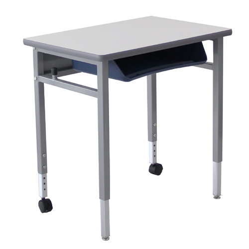 Modern school furniture combination student desks with hpl top