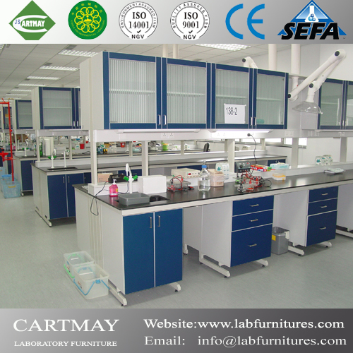 fixed laboratory table