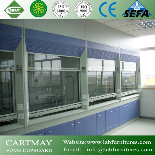 Exhaust fume hood